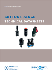 Crouzet Aerospace buttons range technical drawings